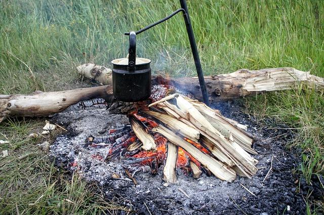 焚き火で焼き芋を一番おいしく作る方法!_7
