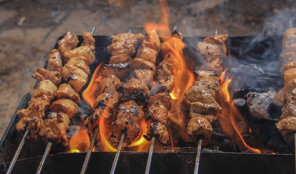 焚き火で作る絶品焼き鳥の作り方!_6